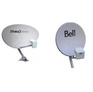 SHAW DIRECT/ TELUS/ BELL satellite dish INSTALLATION and