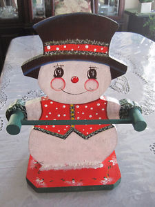 Snowman Candy Cane Holder