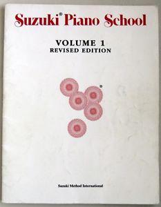 Suzuki Piano School, Volume 1 and 2