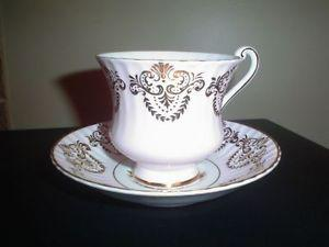 Vintage Fine Bone China Cups and Saucers