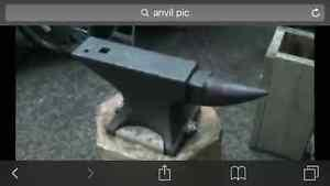 Wanted: Anvil for blacksmith (100lb. Min)