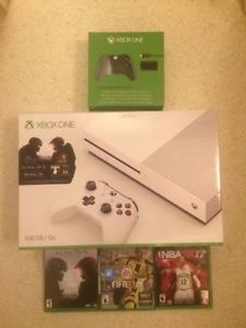 Xbox One S 500 GB Console bundle with three games