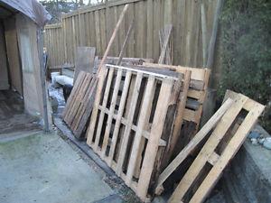 free firewood pallets