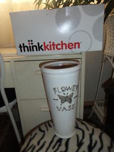 "thinkKitchen brand new in original box, never used 10""vase"