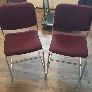 2 chairs in good shape