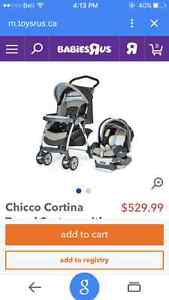 2 in 1 chicco car seat and stroller