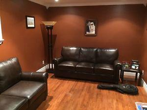 Awesome Deal on a three piece leather sofa set!!!