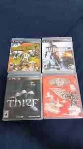 Best ps3 games! Bioshock inf, thief, battlefield 4,