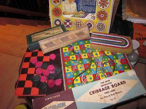 Board games..Trivia, Chinese Checkers etc