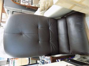 Chaise Lounge Leather $