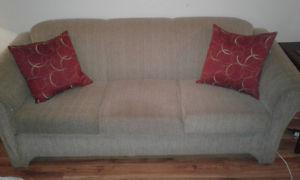 Couch and matching chair $ for both! Clean and perfect