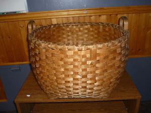Extra Large Laundry Basket (weaved by PEI. Native) 100 years