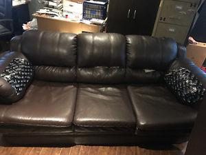 FREE - Couch and love seat - Pick up only
