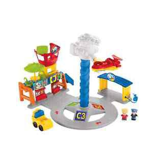 Fisher Price Little Price Spinning Sounds Airport