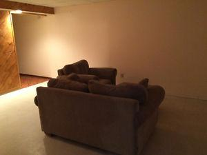 Light brown living room couch for sale