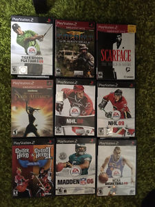 Lot of 9 PS2 games for $10