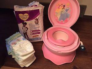 Potty - toilet seat - diapers - training pants