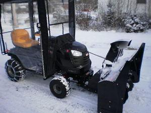 Snowblower and Lawn Tracker