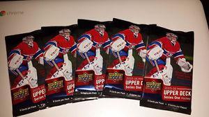Upper Deck Series 1 Hockey Card Packs