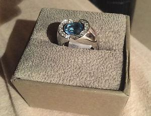 Wanted: PRICE REDUCED!! Beautiful Topaz/Diamond Woman's Ring