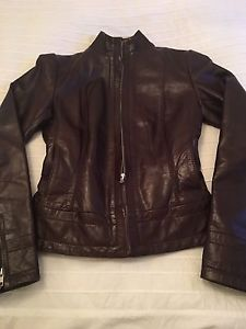 Women's Brown leather Jacket Old Hide House