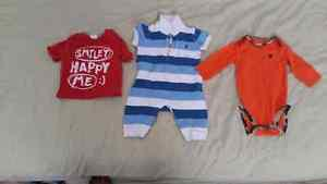 0 to 3 month old boy clothes