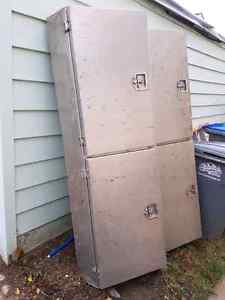 Aluminum tool boxes