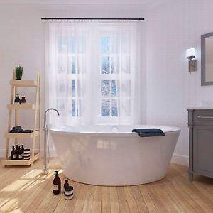 Betsy 67-in. Bathtub with Athena Freestanding