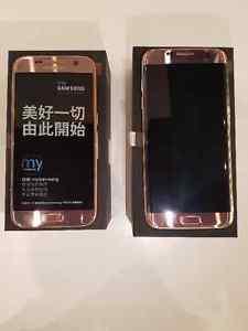 Brand New unlocked Samsung S7 LTE Dual SIM Pink Gold