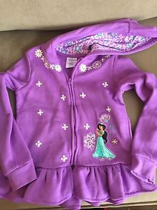 Girls Disney Princess Sweater Size 7/8