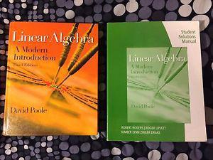 Linear Algebra: A Modern Introduction 3rd w/ Solutions
