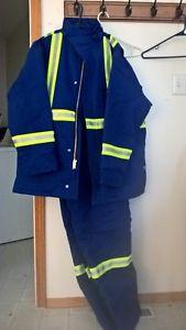 New Winter Work Jacket/Bibs