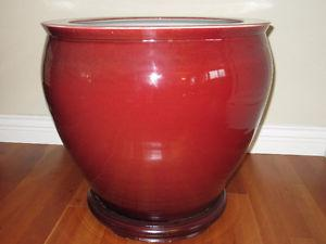 Porcelain Planter / Koi Pot