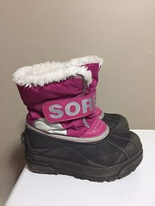 Sorel girls size 10 boots