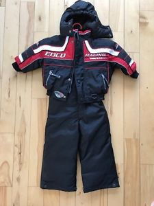 Toddlers size 2 skidoo suit