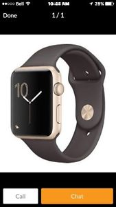 Wanted: Wanted Apple Watch series 2 42 mm