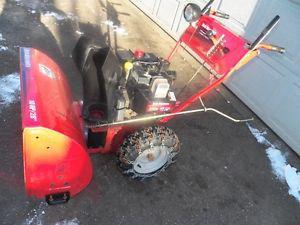 "Yard Machines 10 Horse Power 28 ""Cut Snow Blower"