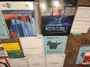 books for academy Canada's electrical program