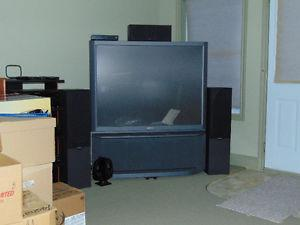 52 Inch Sony TV