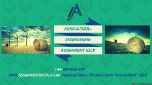Best Online Agricultural Assignment Help from Experienced