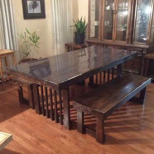 Dining table,reclaimed wood furniture