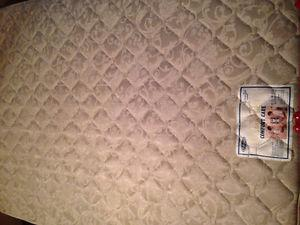 Double Bed Mattress and Boxspring