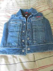 Gap Denim Vest Size 5