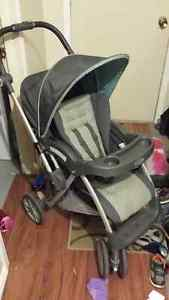 Graco Alano Flip It Travel System with swing