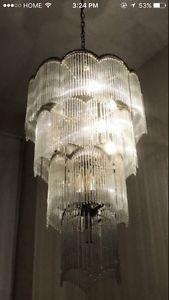 High ceilings chandelier