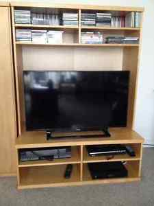 IKEA TV Stand and Side Cabinet