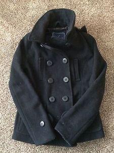 Ladies wool coat (small). American Eagle