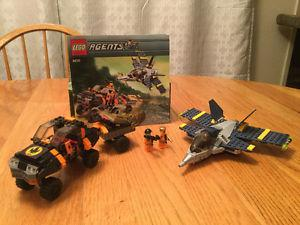 Lego agents  and racer