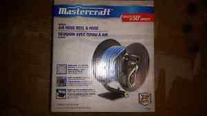 Mastercraft 50' Air Hose Reel - Brand New