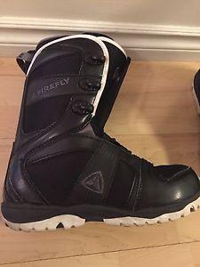 Men's size 8 snowboard boots